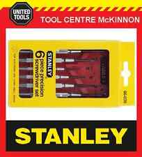 STANLEY 6pce PRECISION SCREWDRIVER SET –  JEWELLERY, WATCHES, GLASSES, LAPTOPS