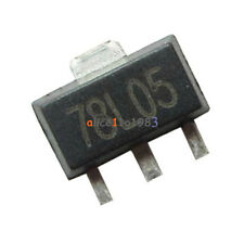 20pcs78L05 L78L05 7805 Voltage Regulator 5V 100mA SOT-89 SMD