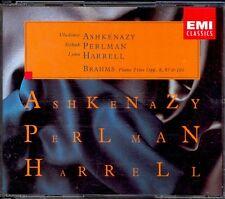 BRAHMS - 4 Piano Trios - ASHKENAZY / PERLMAN / HARRELL - EMI 2CDs
