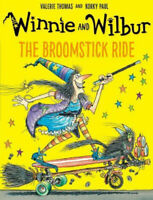 Winnie the Witch Story Book - WINNIE AND WILBUR: THE BROOMSTICK RIDE -  NEW
