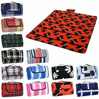 Azuma Outdoor Picnic Blanket Rug PEVA Waterproof Backing Camping Festival Mat