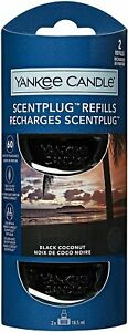YANKEE CANDLE Black Coconut SCENT PLUG REFILS IN TWIN PACK Buy 1 get one 15% OFF