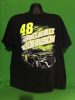 NASCAR Jimmie Johnson #48  Lowes Racing Hendrick Motorsports T-Shirt XL As-Is