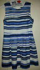 SUZY SHIER, sz L, stripe dress.  NWT