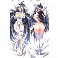 OVERLOAD Albedo Anime H Hugging Body Pillow Cover Case Peach Skin 150CMX50CM SEX