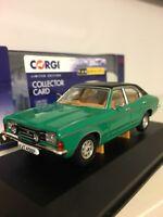 Rare Vanguards Ford Cortina Mk3 2000E Modena Green VA10310