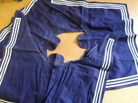 30x BW Marine Kragen Marinekragen, Kieler Kragen blau weiss gebraucht B Ware
