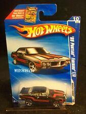 HOT WHEELS 2010 #88 -1 69 PONTIAC FIREBIRD T/A BLAK AMER CA
