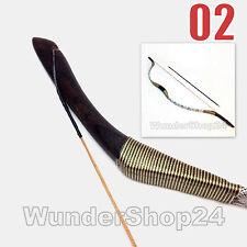 arc court 38lbs et 3 x fiberglas-pfeil H2 Mongol Arc classique Mongol Arc