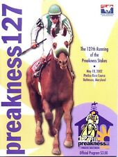 2002 - 127th Preakness Stakes program in MINT Condition - WAR EMBLEM