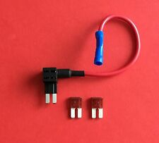 1  Add a Circuit Fuse Tap Piggy Back Micro 2 Blade Fuse Holder & 2x7.5amp Fuses