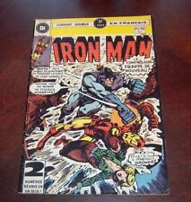 Editions Heritage Invincible Iron Man # 45/46 1976 French Edition Black White #2