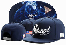 Hot Hip Hop Men's CAYLER Sons Cap adjustable Baseball Snapback Street Blue hats