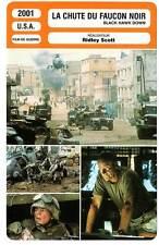 FICHE CINEMA : LA CHUTE DU FAUCON NOIR - McGregor,Scott 2001 Black Hawk Down