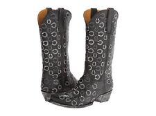 New In Box Old Gringo Cabazorro Horseshoe Womens Boot Black Size 8.5 Msrp $ 560