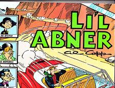 "Li'l Abner Vol 8-1990-Strip Reprints Soft Cover ""Dailies 1942  """