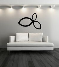 Wall Vinyl Stickers  Abstract Modern Cool Decor For Living Room  z1570