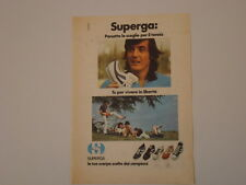 advertising Pubblicità 1977 SCARPE SUPERGA