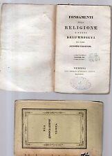 fondamenti della religione e fonti dell empieta'-p.antonino valsecchi -vol.sesto
