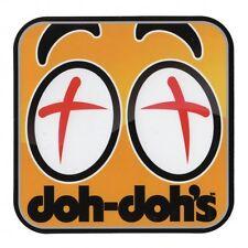 SHORTYS SKATEBOARDS - DOH DOH BUSHINGS STICKER - SKATE NEW 90S STYLE CROSS EYE