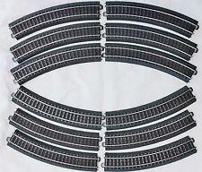 New! Set of Twelve, Marklin 24130, C Track R1 Curve Pieces, Makes A Full Circle!