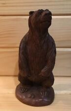 Grizzly Bear Statue Americana Red Mill Art Crushed Pecan Shells Grizwold 92'