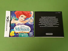 Nintendo DS Instruction Manual Ariel's Undersea Adventure NTR-AQJP-EUR *NO GAME*