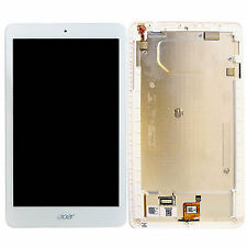 "ACER Iconia One 8 8"" b1-820 Touch Screen Digitizer + LCD + FRAME DI MONTAGGIO"