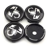Scorpion Abarth Logo Nabenkappe Radkappe  4 x 60mm for Fiat Abarth 500 595 500x