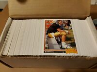 1991 Upper Deck Football -Complete 500 Card Set - Extra Farve RC- Mint Condition
