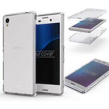 Sony Xperia Z3 TPU Case 360° Grad Schutz Hülle Etui rundum Cover Touch Case
