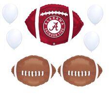 Alabama Crimson Tide 7 Piece Balloon Bouquet Party Decorations Football