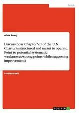 Discuss How Chapter Vii of the U. N. Charter Is Structured and Meant to...