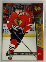 2019-20 DOMINIK KUBALIK Upper Deck NHL ROOKIE SET Card #22 - Chicago Blackhawks