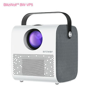 BlitzWolf BW-VP5 3D Bluetooth 3800LM 720P HD Multimedia LCD Projector + Speaker