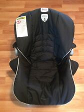 Britax B-safe 30 Infant Car Seat Cushion Cover Replacement Part Black Silver