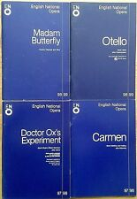 Individual English National Opera (ENO) programmes 1995-1999, programme