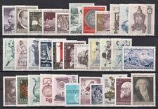 1970 AUSTRIA ANNATA COMPLETA NUOVI GOMMA INTEGRA  OSTERREICH JAHRGANG POSTFRISCH