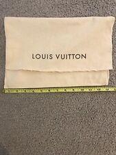 Louis Vuitton Medium Dust Pouch Dust Bag Louis Vuitton Wallet Dust Bag LV
