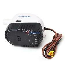 12V Boat Automatic Submersible Bilge Water Pump 750GPH Auto W/ Float Switch TDD#