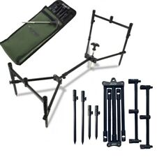 NGT XPR Rod Pod Carp Fishing 3 Rod Fully Adjustable Lightweight Compact Pod