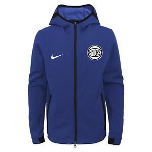 Nike NBA Youth New York Knicks Showtime Full Zip Hoodie