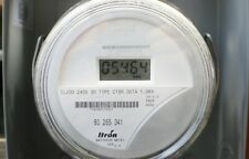 Itron Centron Lcd Watthour Electric Meter Md C1sr Cl200 240v 3w Fm2s Free Shp