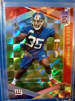2019 Panini Donruss Elite Deandre Baker RC /299 REFRACTOR Card #128 GIANTS