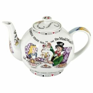 New boxed Cardew ALICE IN WONDERLAND 4 cup teapot 30oz