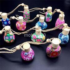Fashion Perfume Bottle Colorful Hanging Freshener Fragrance Diffuser Bottle UK