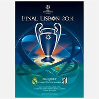 Real Madrid Atletico Madrid Champions League Football Final Programme - 2014