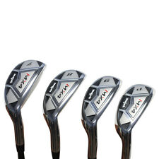 "Men's Majek MX4 Hybrid Iron Set (7-PW) Senior ""A"" Flex Graphite Rescue Clubs"