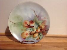 "Thomas Sevres Bavaria, hand decorated porcelain plate 6 3/4""  circa 1908-1939."