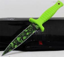 MTech Zombie Double Edged Throwing Survival Combat Boot Dagger Knife + Sheath